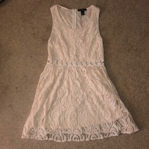F21 Light pink dress